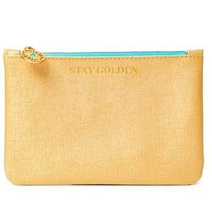 💸 3/$20 Ipsy Stay Golden Makeup Bag